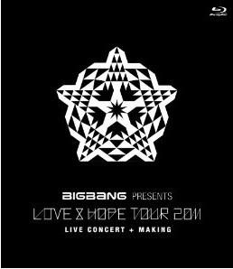 "[Blu-ray] BIGBANG PRESENTS ""LOVE & HOPE TOUR 2011"""