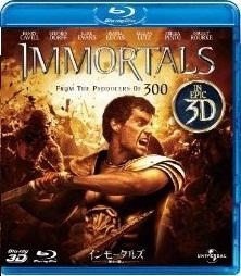 [3D&2D Blu-ray] インモータルズ -神々の戦い-