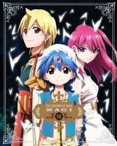 [Blu-ray] マギ 10