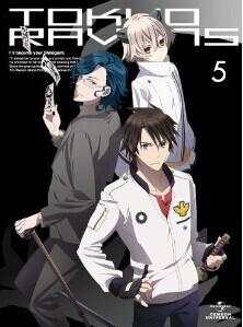 [Blu-ray] 東京レイヴンズ 第5巻