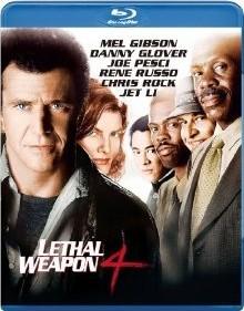[Blu-ray]  リーサル・ウェポン4