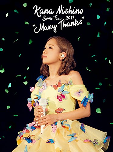 "[DVD] Dome Tour 2017 ""Many Thanks"