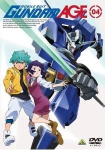 [DVD] 機動戦士ガンダムAGE 04 05